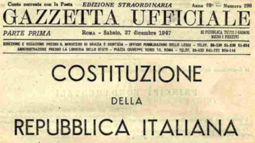 costituzione-fascismo e antifascismo