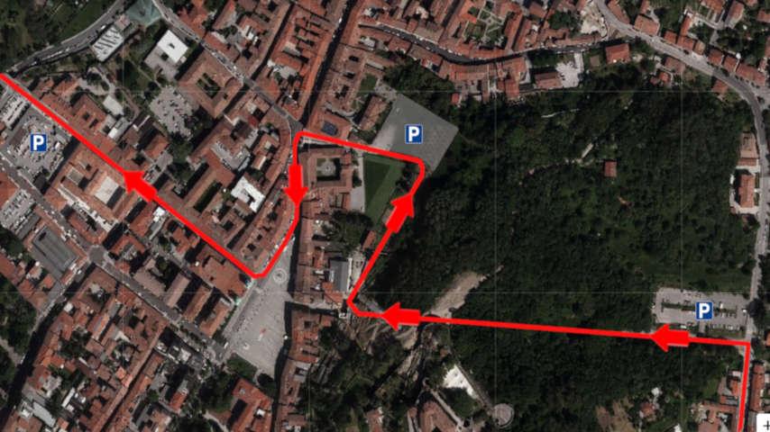 vista satellite-riapertura galleria bombi